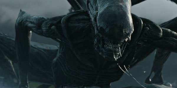 A Xenomorph in Alien: Covenant