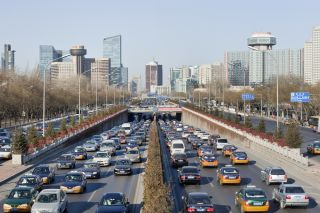 traffic, china, city planning, urbanization