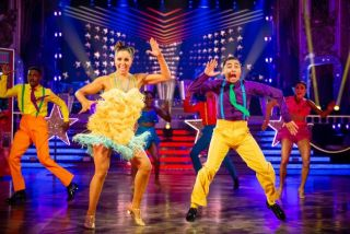 Amy Dowden partnered Karim Zeroual in Strictly Come Dancing 2019.
