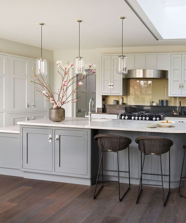 21 Kitchen Island Ideas With Seating Lighting And Stools Homes Gardens