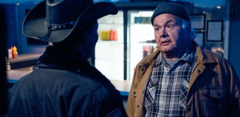 Dan (Gary Farmer) and Sherriff Thompson (Corey Reynolds) team up to search for Asta (Sara Tomko) and D'Arcy (Alice Wetterlund) after they go missing.