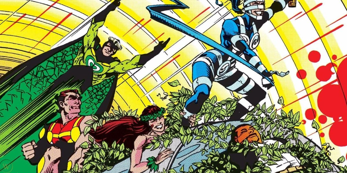 Poison Ivy and the Suicide Squad from DC Comics