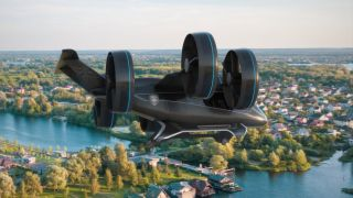 Bell flying car