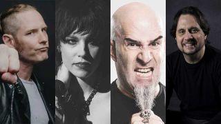 Corey Taylor, Lzzy Hale, Scott Ian and Dave Lombardo