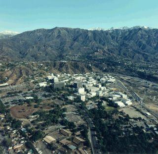 nasa jpl aerial view
