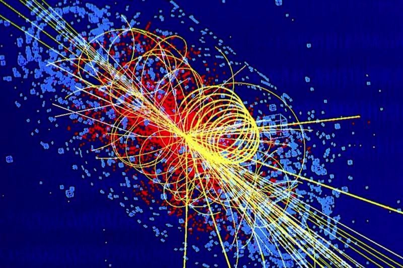 Higgs boson possibly caught in act of never-before-seen transformation