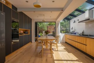 building an extension made this kitchen bigger and brighter