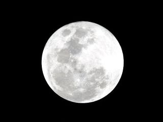 moon watching night