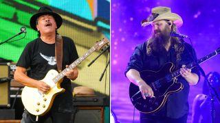 Carlos Santana and Chris Stapleton