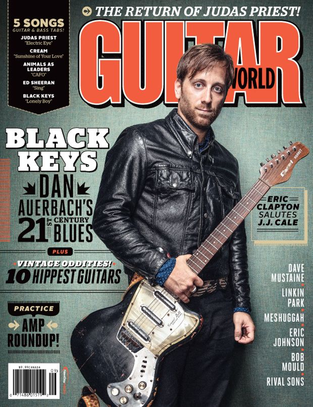 Guitar World September 2014 Gear And Lesson Videos Guitar World