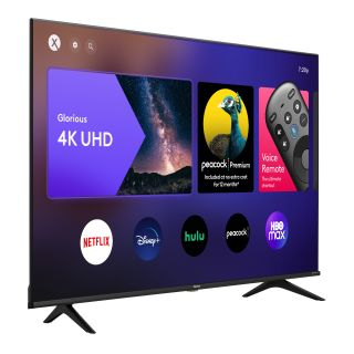 Cable operator says the first Hisense-made, X1-powerd XClass TV models will be available at Walmart this week