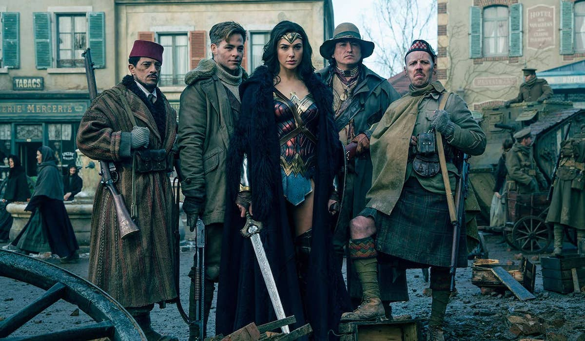Wonder Woman World War I frontline photo