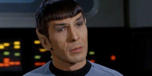 Spock Leonard Nimoy Star Trek CBS