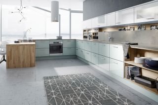 L-shaped kitchen ideas by Wren kitchens