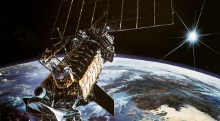 DMSP-F13 Satellite Illustration