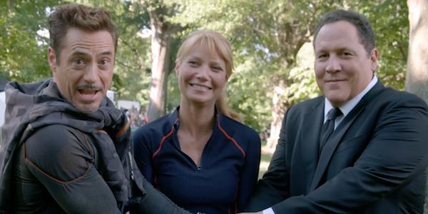 The Iron Man trio