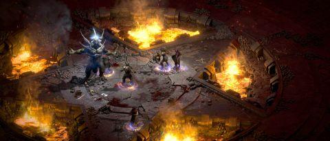 Diablo II: Resurrected gameplay screenshot