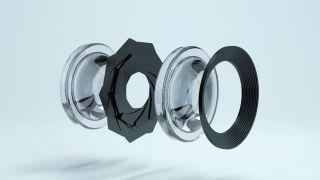 Camera aperture components