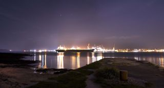 Flushing and Falmouth light pollution.