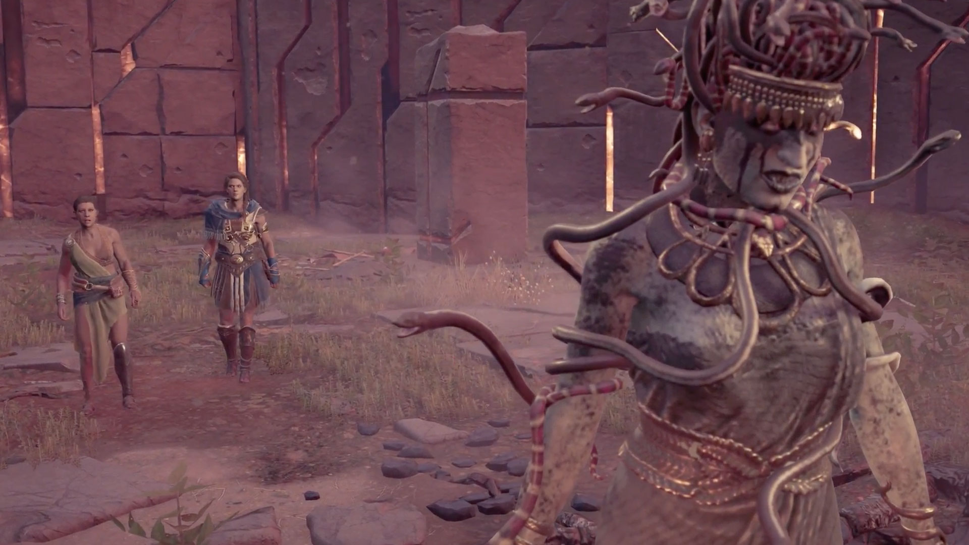 How To Find And Beat The Assassin S Creed Odyssey Medusa Gamesradar