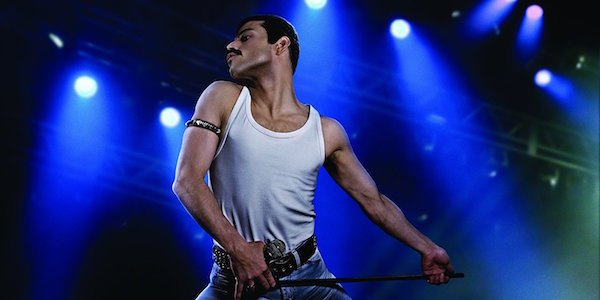 Rami Malek as Freddie Mercury in Bohemain Rhapsody