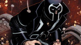 'Trial of Magneto' teaser art by John Romita, Jr.