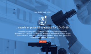 Donate your device to help fight COVID-19