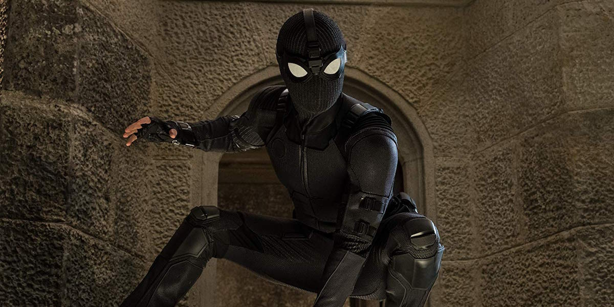 Spider-Man stealth suit in Far From Home
