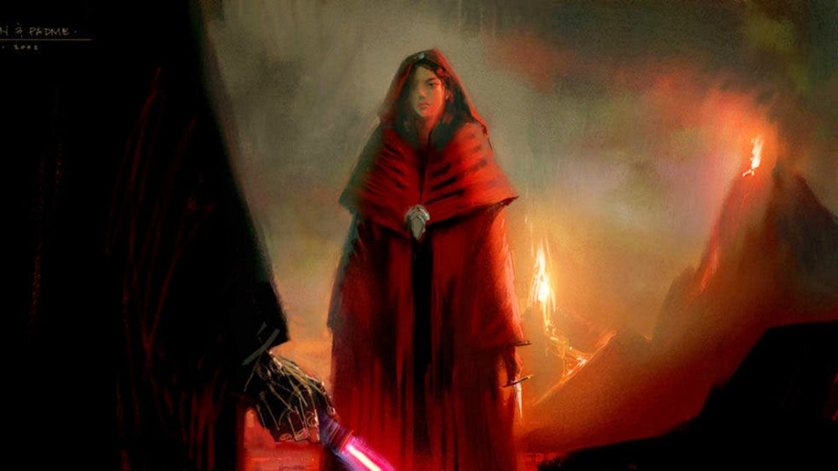 The Original Star Wars Revenge Of The Sith Ending Had Padme Founding The Rebel Alliance And Almost Killing Anakin Gamesradar