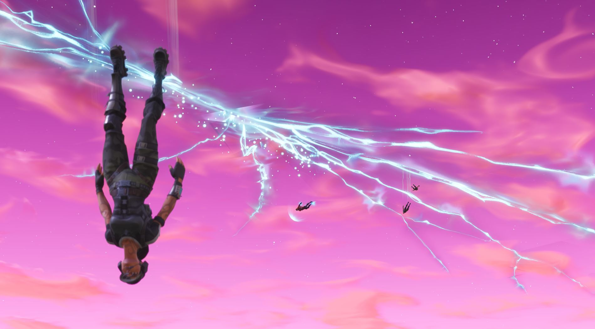 Player Crashes Fortnite Rocket Launch Viewing Party To Net Single