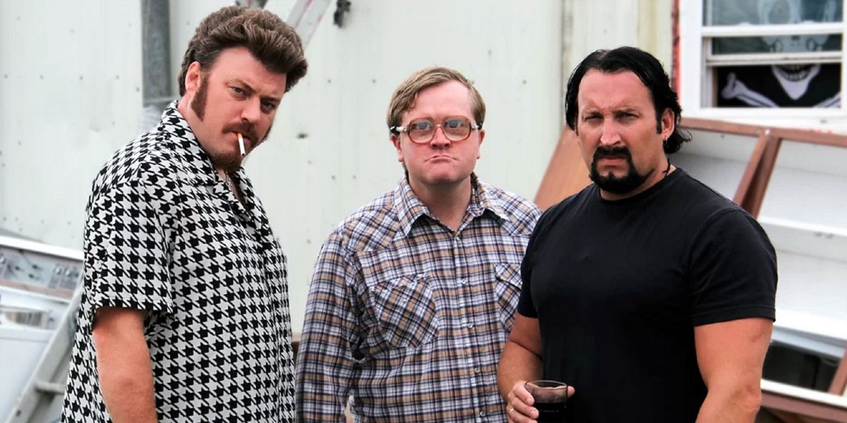 Robb Wells, Mike Smith, and John Paul Tremblay on Trailer Park Boys