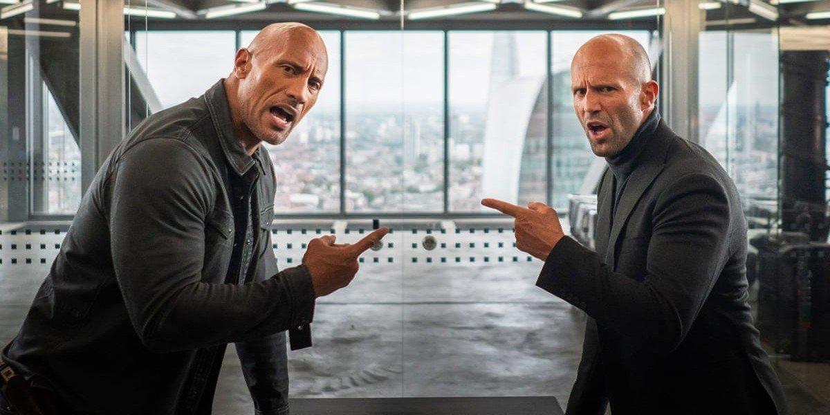 "Dwayne ""The Rock"" Johnson, Jason Statham - Fast and Furious Presents: Hobbs & Shaw"