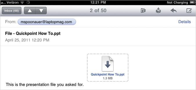 How to View and Edit Docs from Email Attachments on your