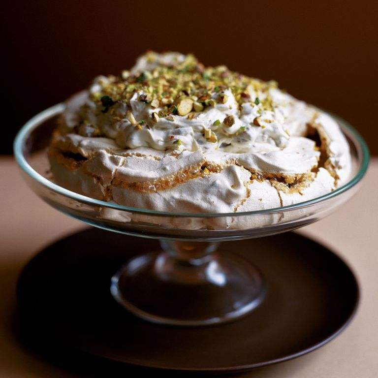 Turkish Delight and Pistachio Meringue recipe-recipe ideas-new recipes-woman and home
