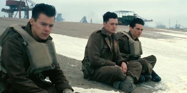 Dunkirk cast sitting