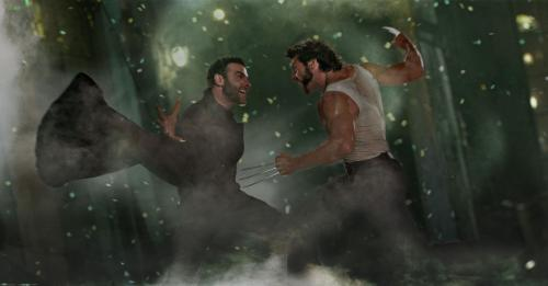 X-Men Origins: Wolverine - Hugh Jackman's Wolverine fights his half-brother, Liev Schreiber's Sabretooth