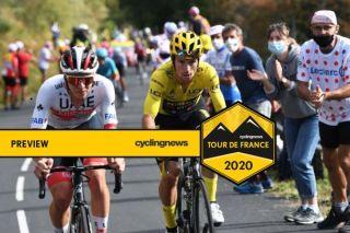 UAE Team Emirates' Tadej Pogacar and race leader Primoz Roglic (Jumbo-Visma) are set to do battle on the Col de la Loze on stage 17 of the 2020 Tour de France