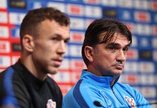 Croatia Training Session and Press Conference – Wembley Stadium