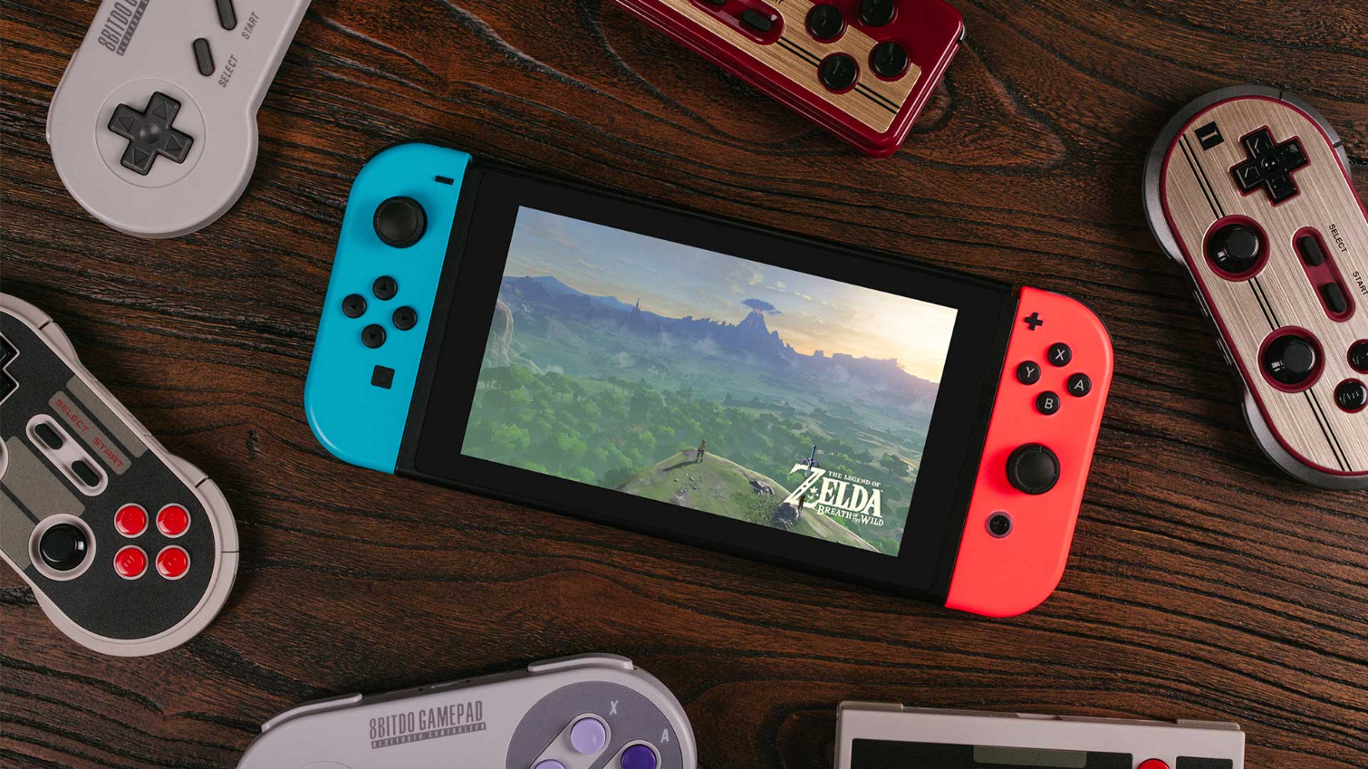 You Can Now Use Retro Controllers on Nintendo Switch | Tom's