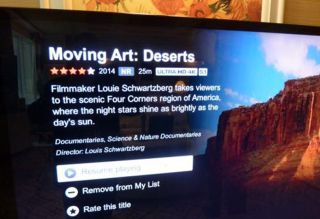 netflix app for android tv