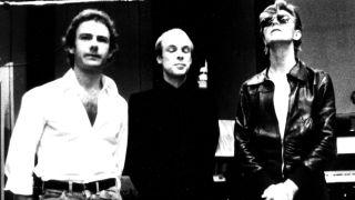 Robert Fripp, Brian Eno and David Bowie