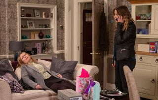 Charity Dingle Charity is in mid-rant with a drunk Vanessa when se gets a call