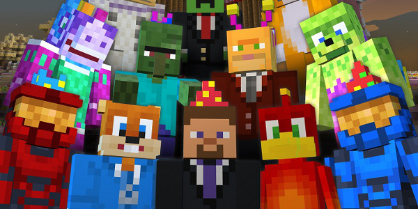 Minecraft Xbox 360 2nd Birthday Skin Pack Will Be Free To ...