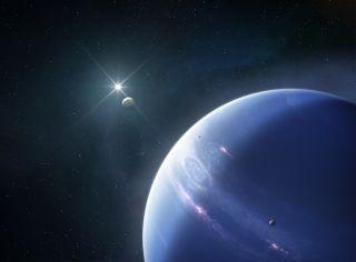 Artist's impression of Neptune