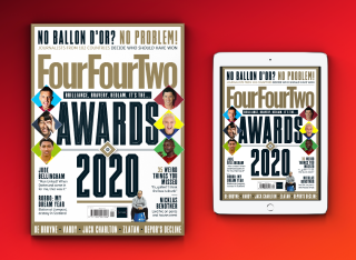 FourFourTwo 321 issue January 2021 Awards