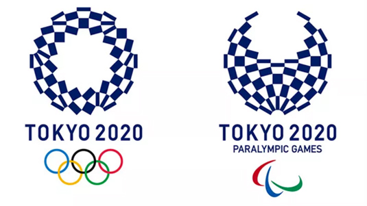 Logos for Tokyo Olympics and Paralympics