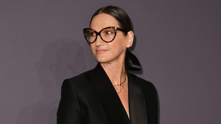 Jenna Lyons attends the amfAR New York Gala 2019 at Cipriani Wall Street on February 6, 2019 in New York City