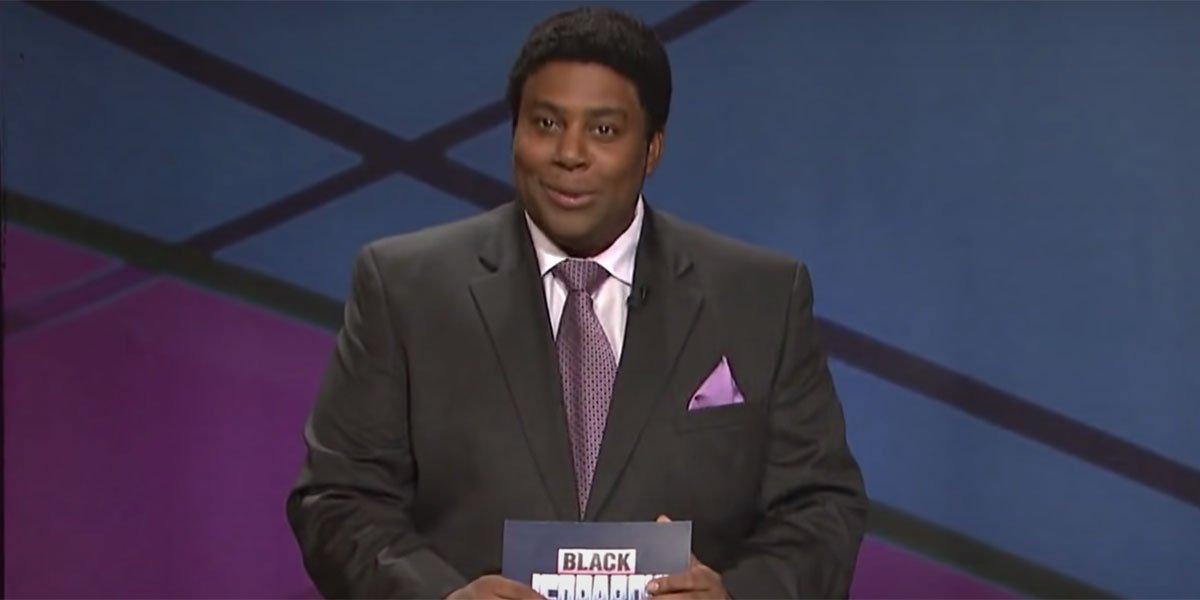 How Alex Trebek Felt About Kenan Thompson's Black Jeopardy Sketches On Saturday Night Live