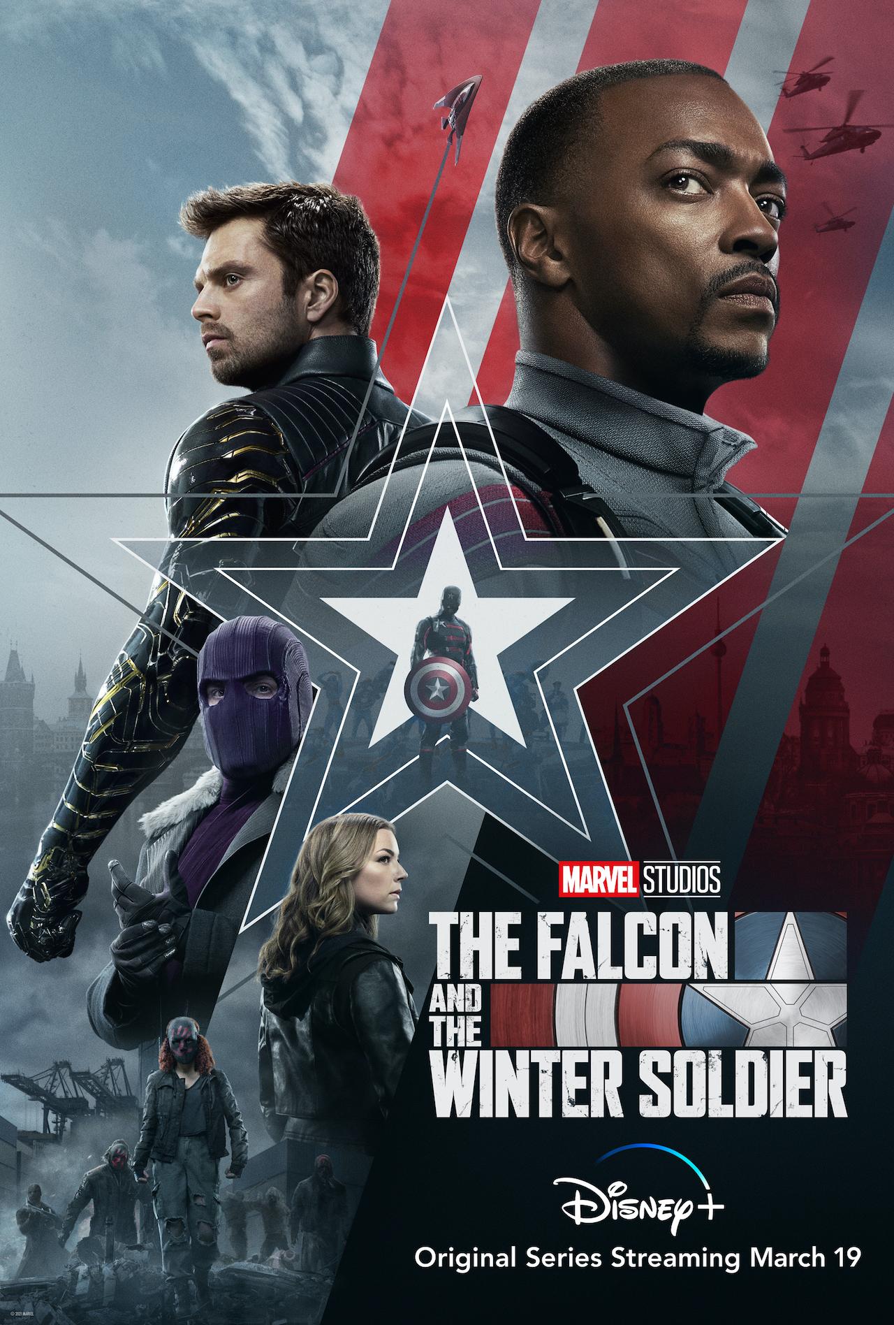 El cartel del halcón y el soldado de invierno.