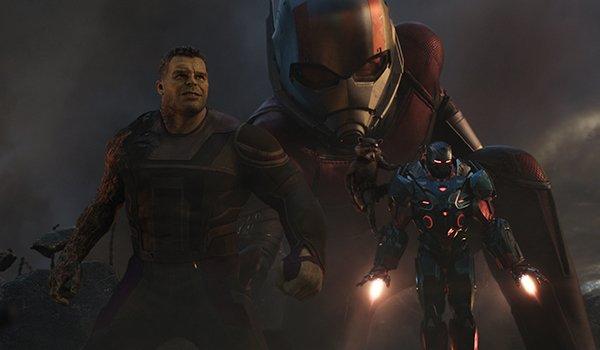 Hulk, Ant-Man and War Machine in battle